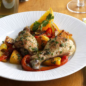 Cuban chicken and veggies recipe