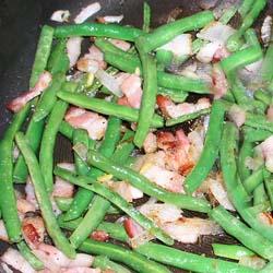 Cuban green beans