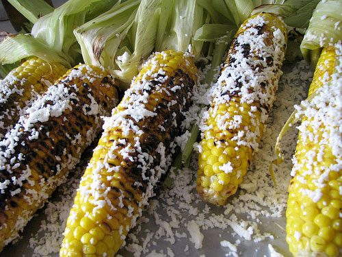 Cuban grilled corn recipe