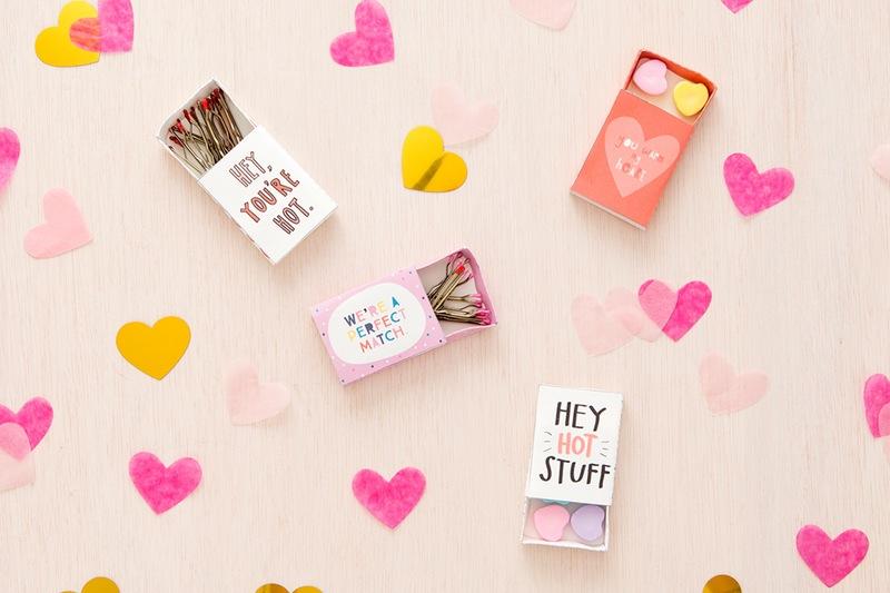 Diy matchbox valentine's day