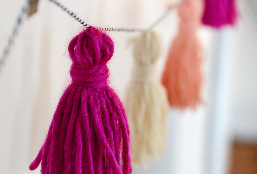 Diy valentines tassel garland final 3