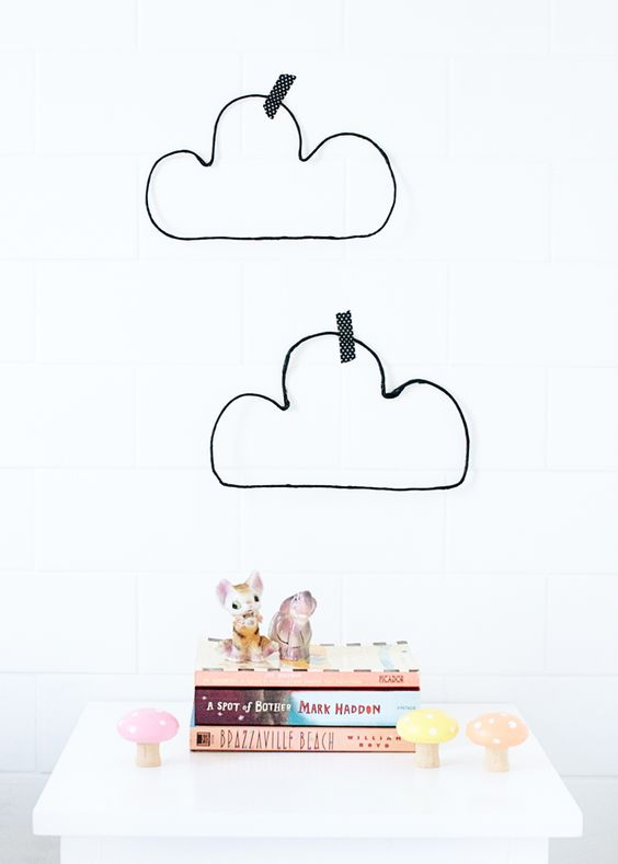 Diy wire clouds