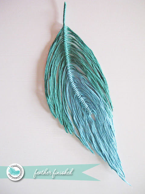 Diy wire feather