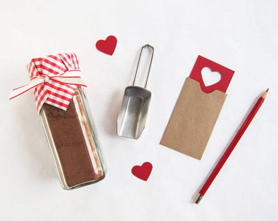 Hot cocoa diy vday gift