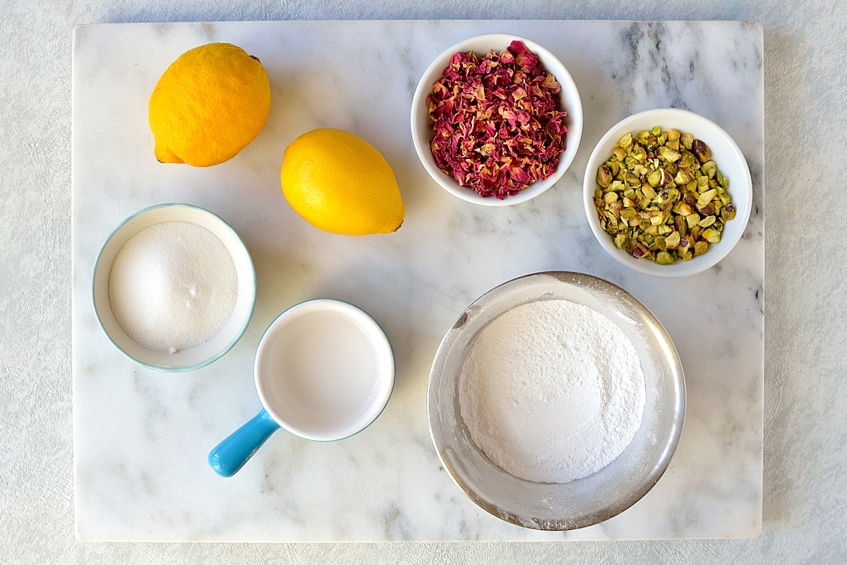 Icing and topping ingredients