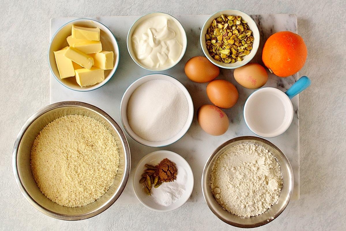 Persian love cake ingredients