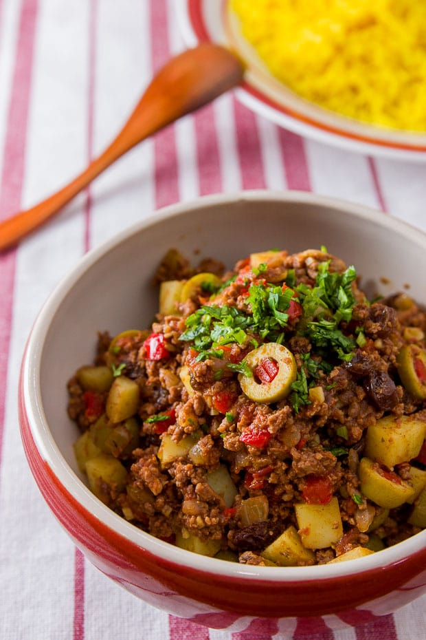 Recipepicadillo cuban style