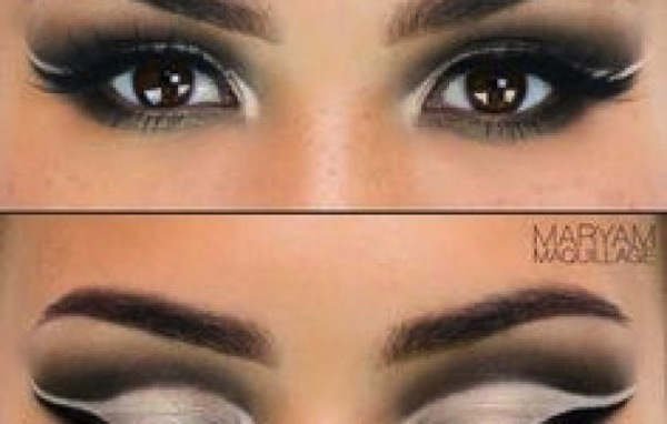A defined crease