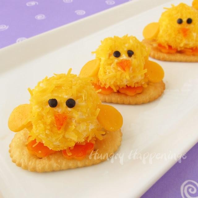 Baby chick cheeseballs