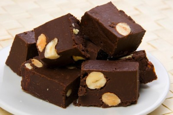Cashew chocolate fudge