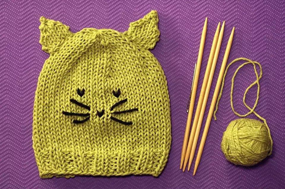 Child's cat hat