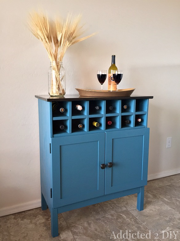 diy modern ikea tarva hack. Diy Bar Cabinet From Ikea Tarva Dresser Diy Modern Hack