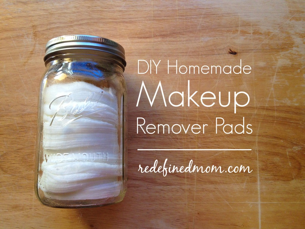 Diy coconut oil makeup remover pads