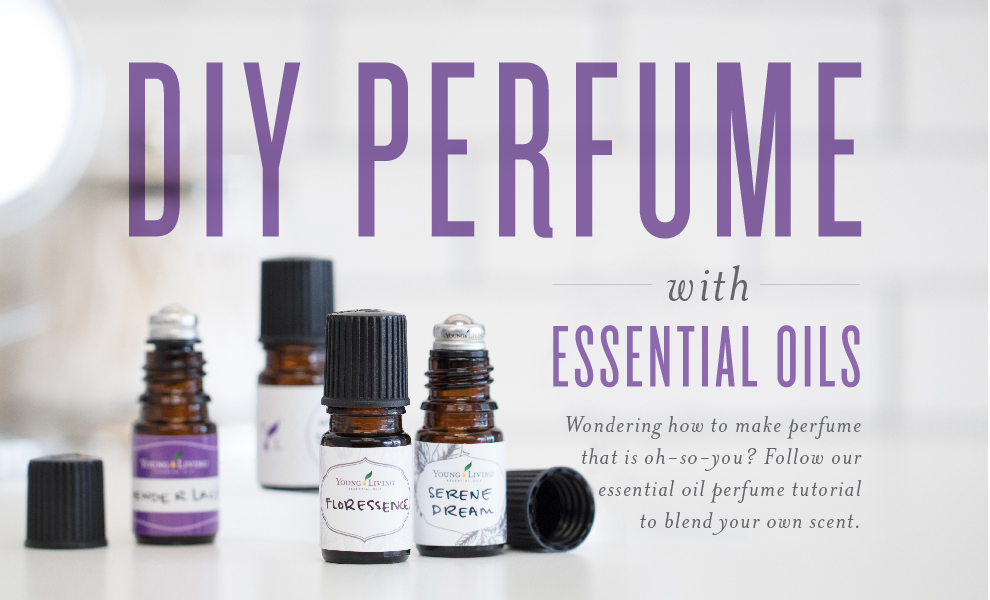 Essential oil perfume