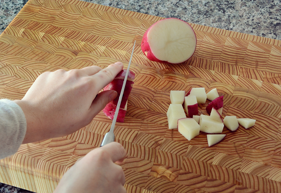 Freezer crockpot beef vegetable stew meal 1