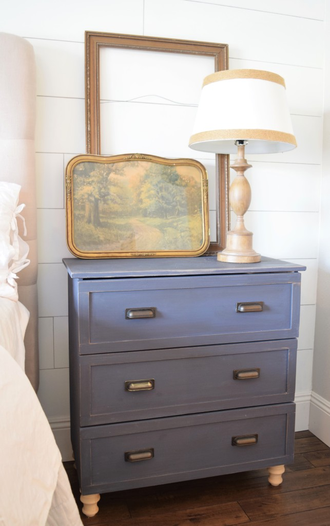 Ikea tarva dresser vintage redo