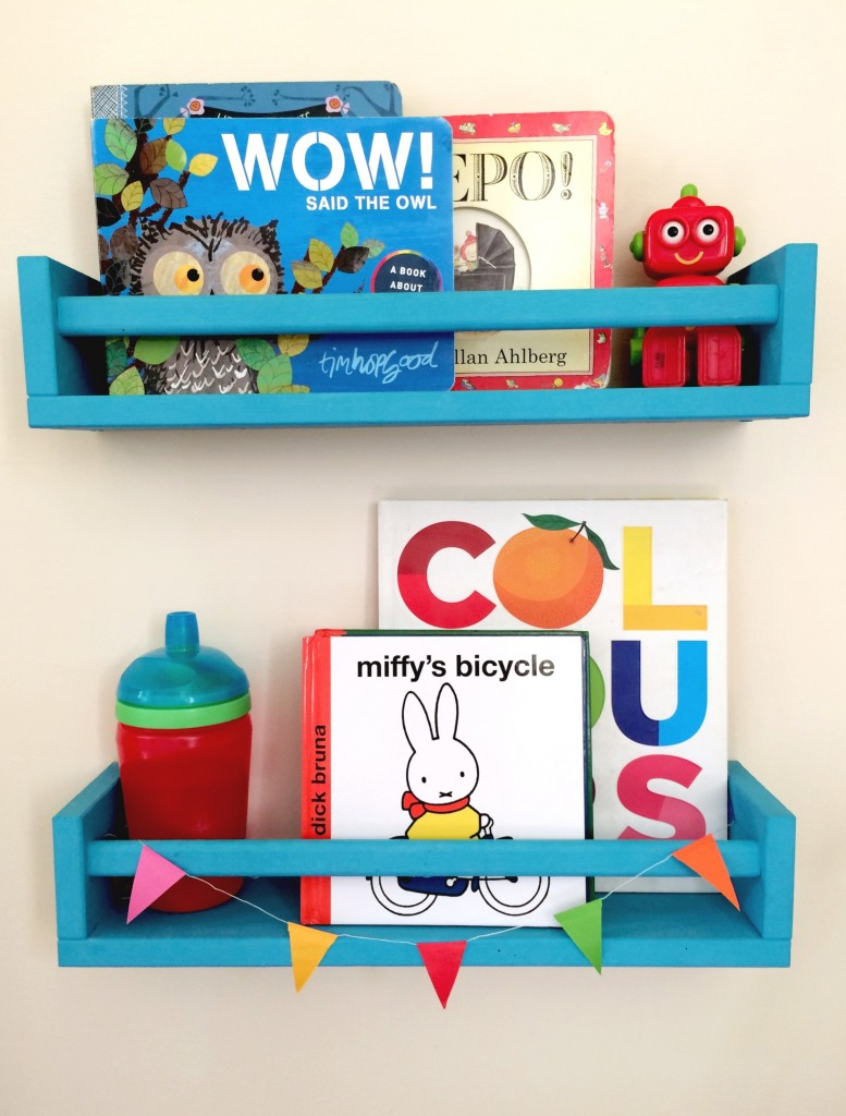 Ikea bekvam as colourful childrens bookshelves 777x1024
