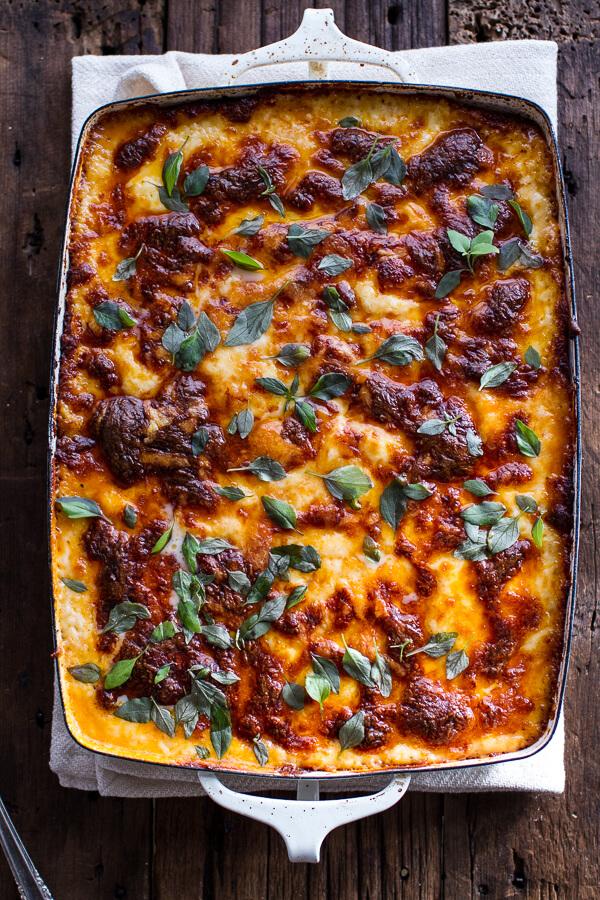 Italian quinoa risotto lasagna w truffle oil 1