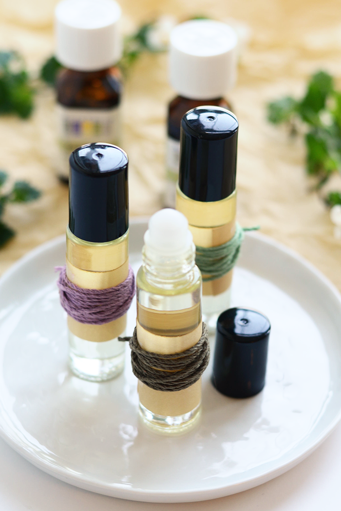 Lavender lemon roll on perfume