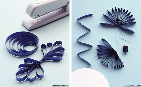 Looped paper bows