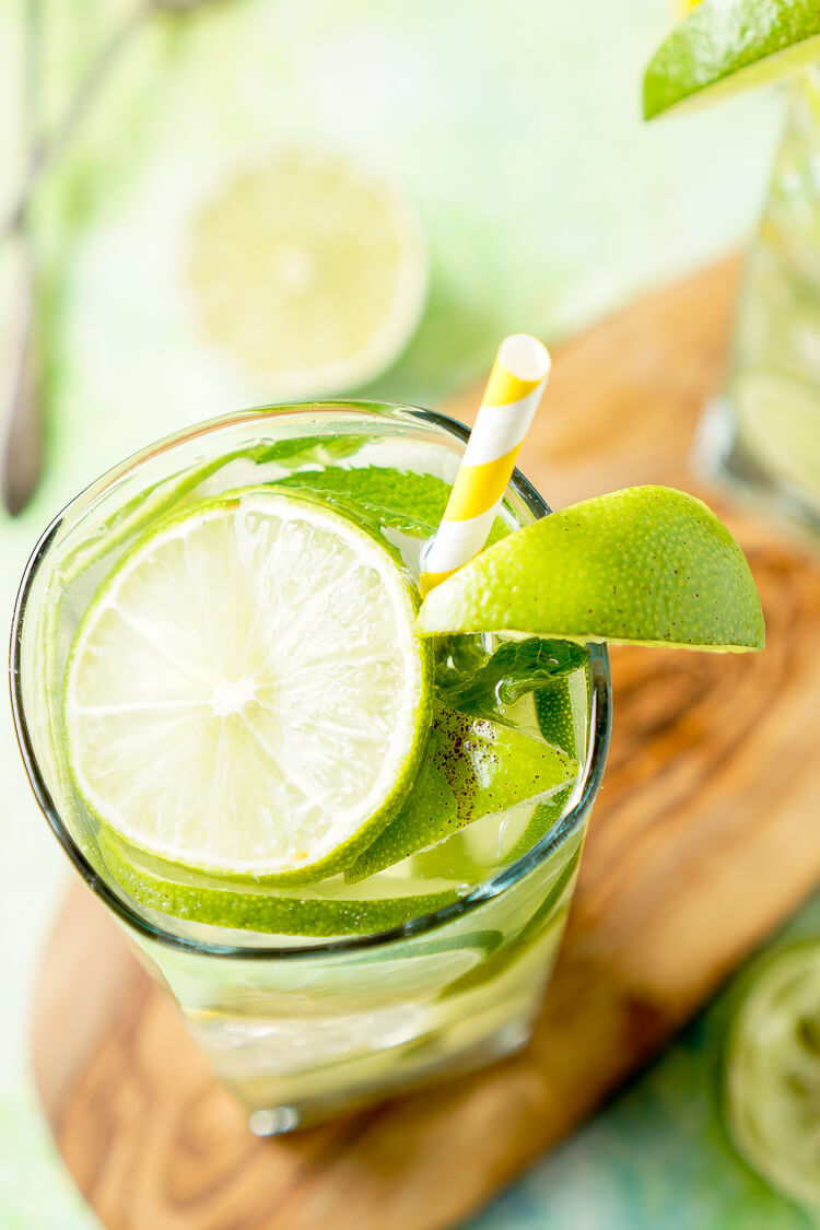 Mojito water recipe