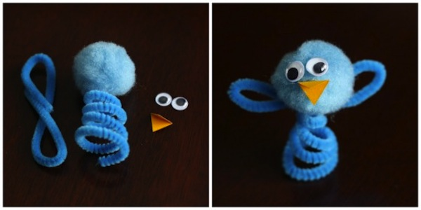 Pipeclearn chick puppet