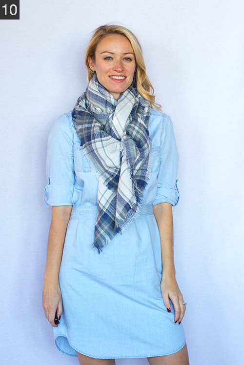 25 Different Ways To Tie A Scarf