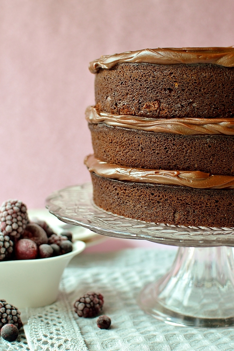 The ultimate chocolate layer cake