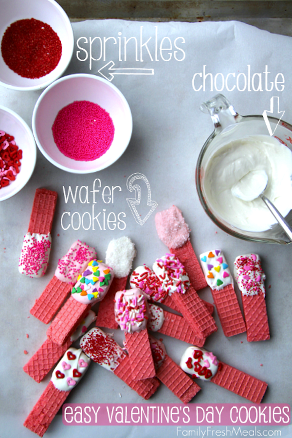 Valentine's wafers again