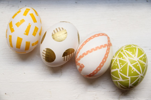 Washi tape eggs