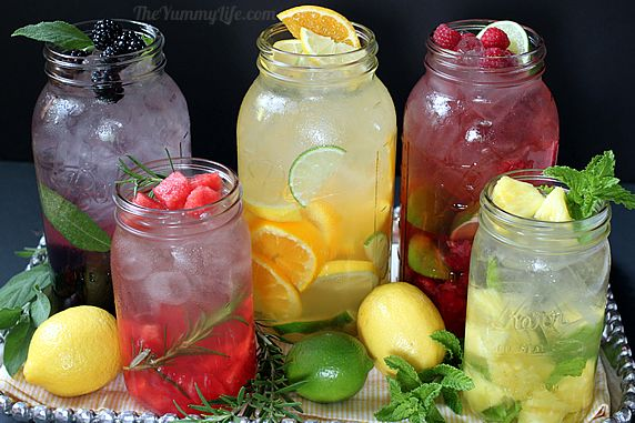 Watermelon rosemary infused water recipe