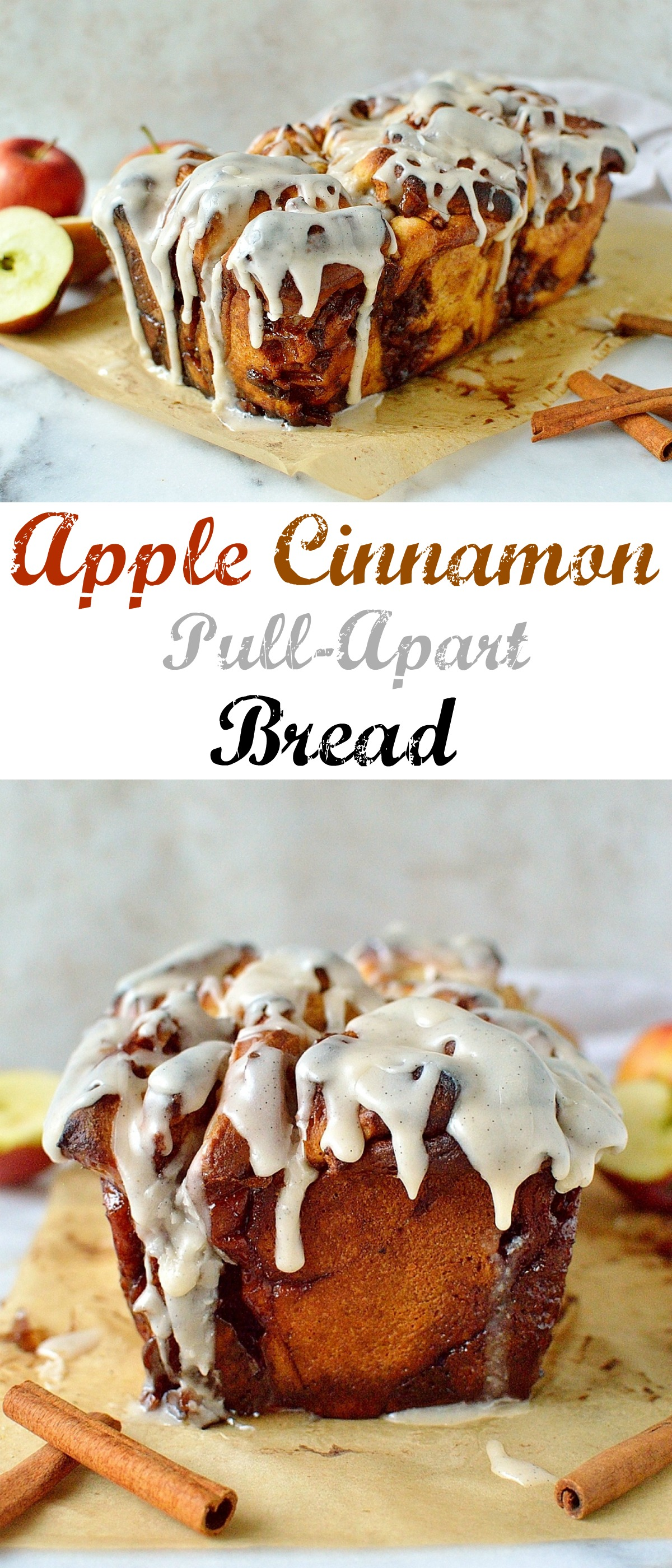 Apple cinnamon pull apart bread pinterest