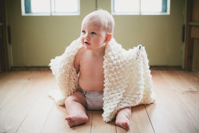 Chunky baby blanket