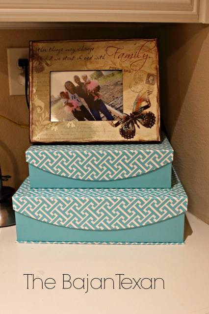 Diy decor box charging station