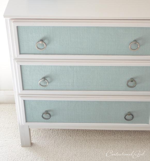 Texture panel diy dresser