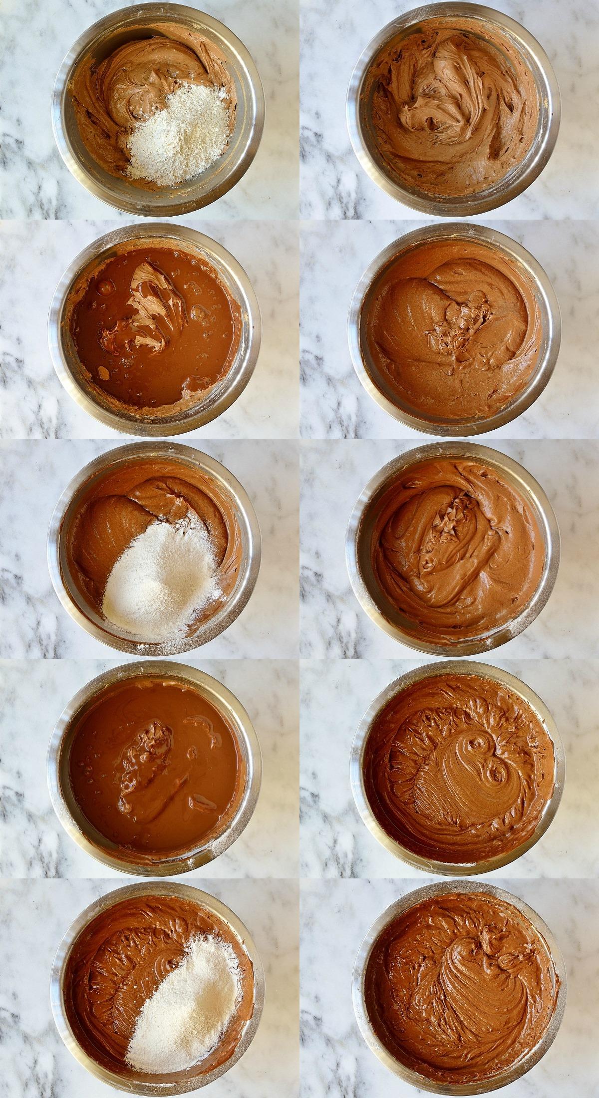 Ultimate chocolate cake steps 4