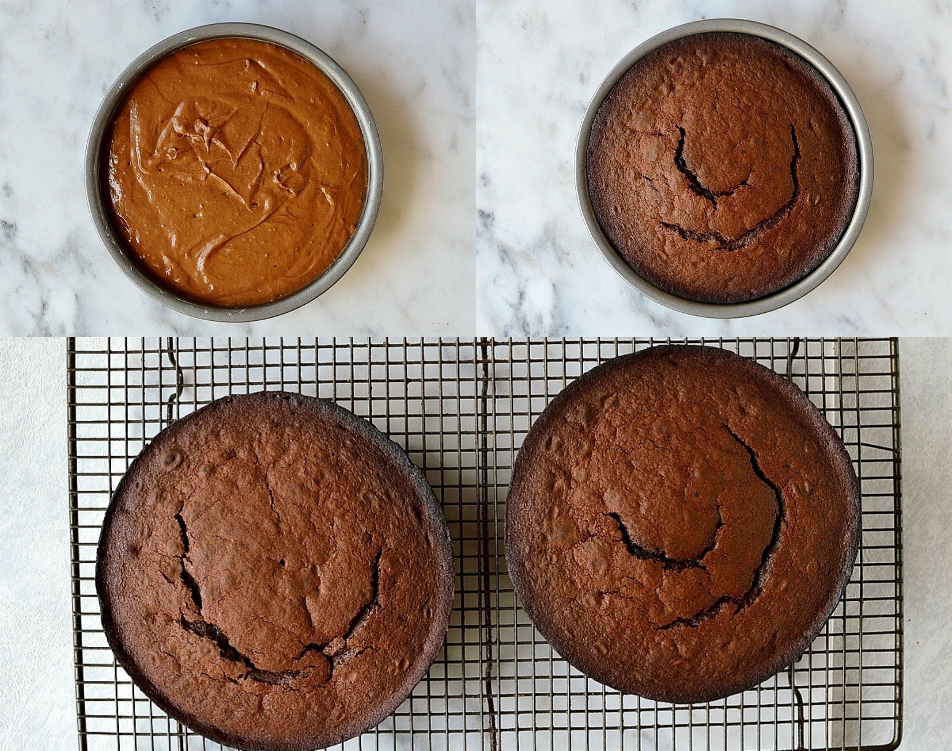 Ultimate chocolate cake steps 5