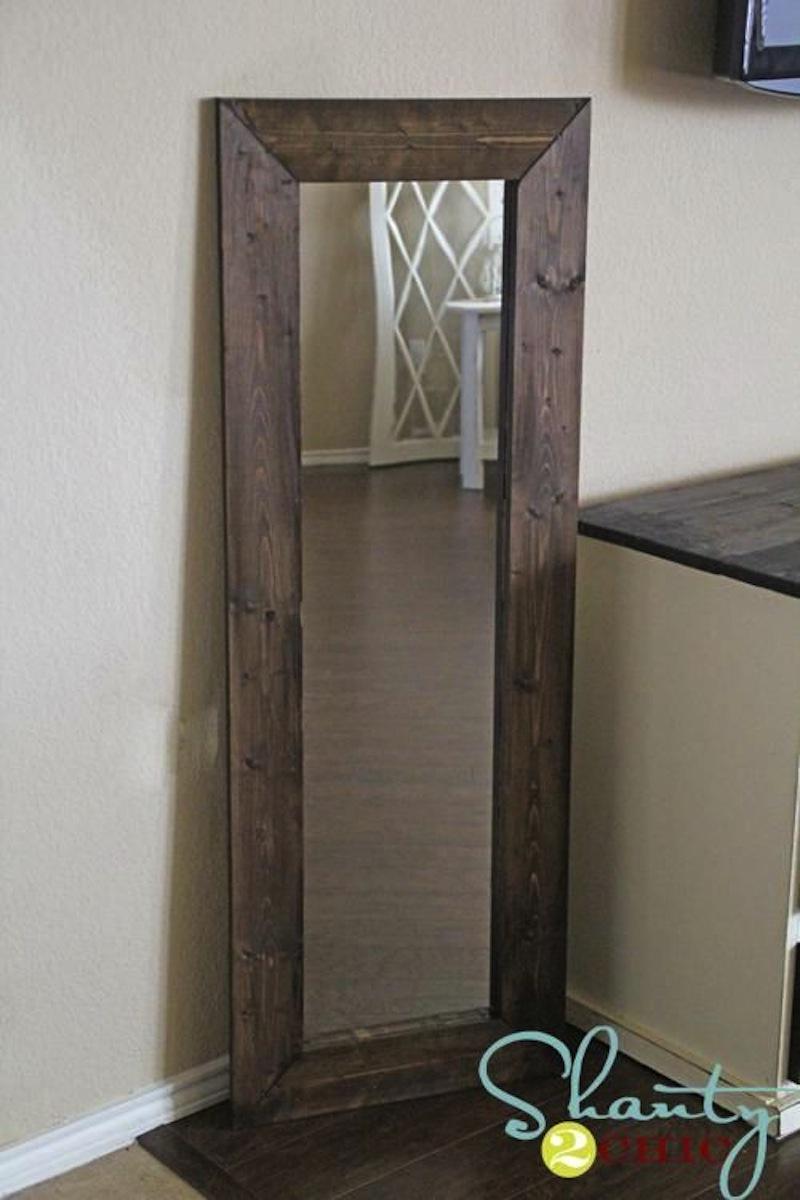 $15 wood framed mirror