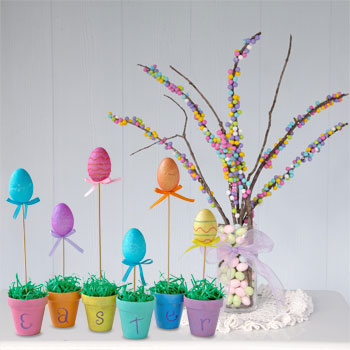 Growing Easter Centerpiece diy