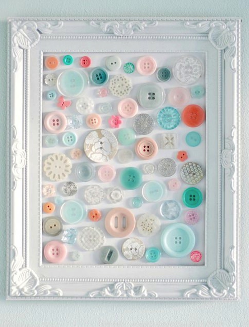 Button frame art