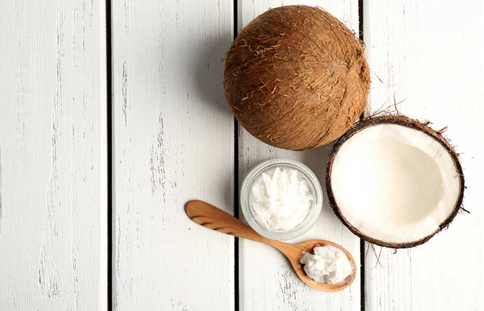 Coconut oil vitamin e