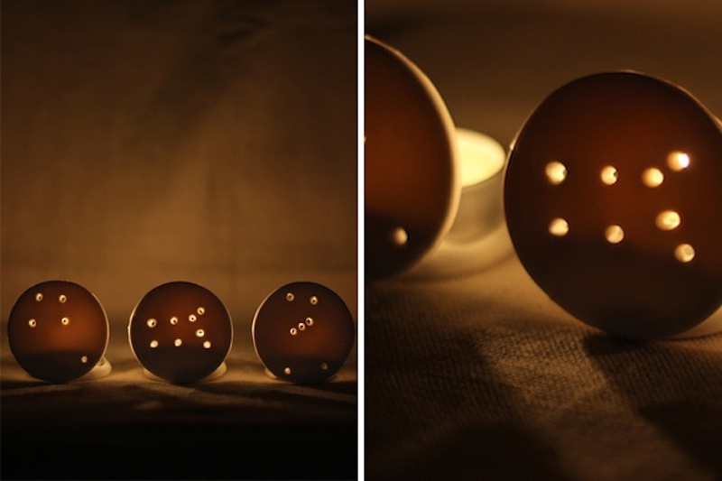 Constellation votives