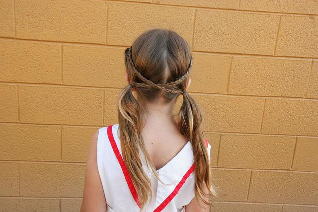 Criss cross applesauce braids