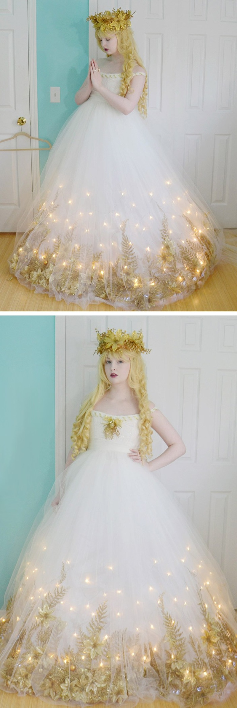Diy light up fairy dress