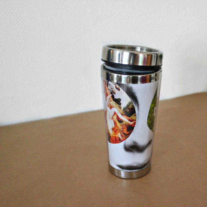 Diy photo coffee tumbler