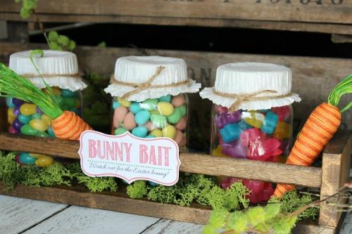 Easter mason jars diy