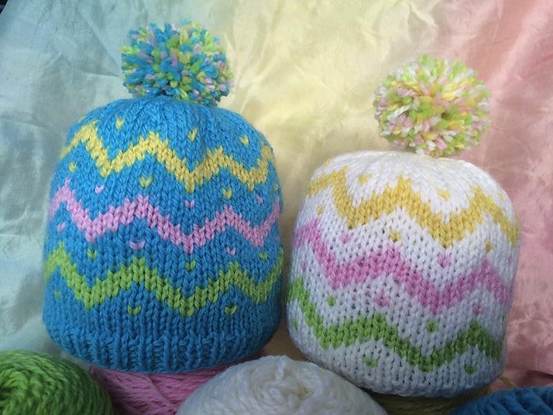 Easter baby cap
