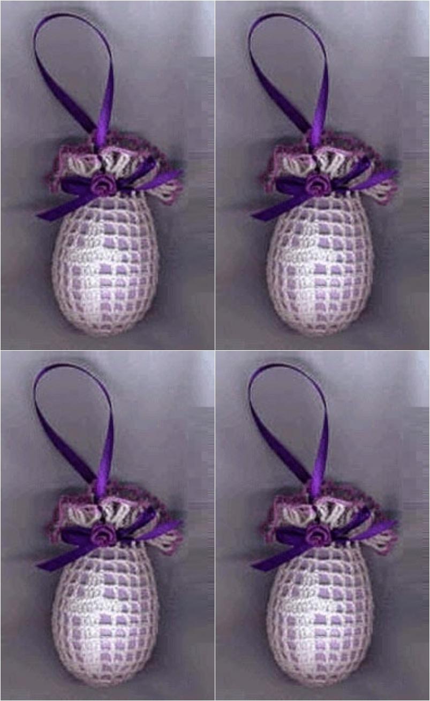 Filet cros easter egg cover