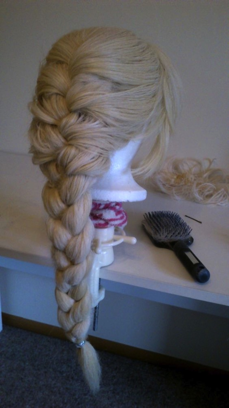 French braided wig