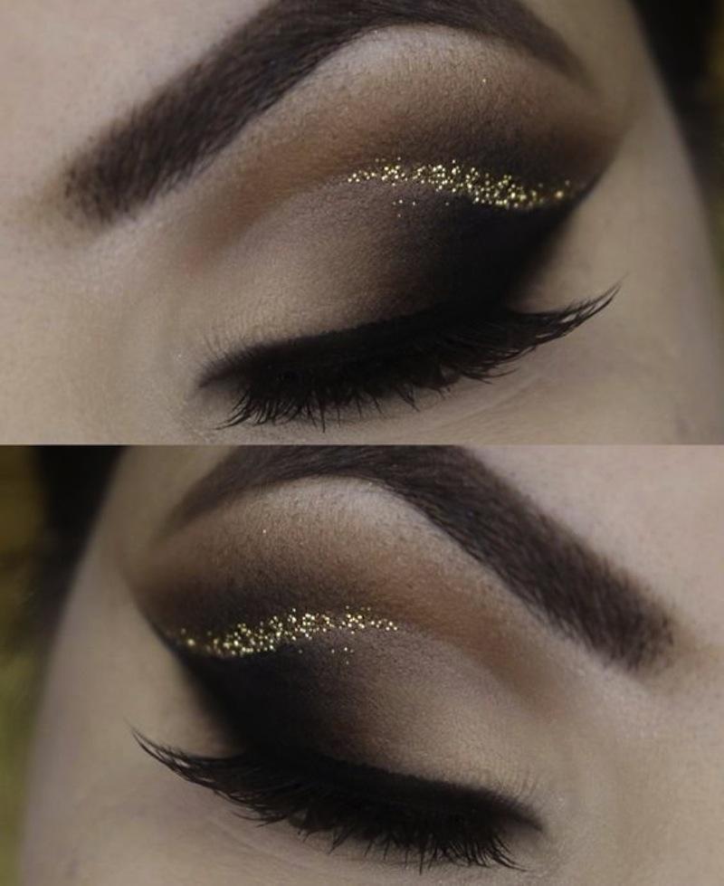 Glitter outer corner